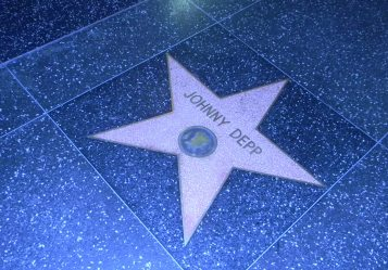 Hollywood in Los Angeles se Walk of Fame, in Hollywood Boulevard