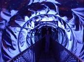 Binne-in 'n kaleidoskoop, by Ripley's Believe it or not in San Francisco- 'n Skrikwekkende ervaring! Ripley's believe it or not museum in San Francisco