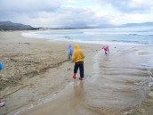 Kleinmond lagune breaks through to the sea