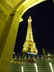 Our stay in the Paris Hotel in Las Vegas