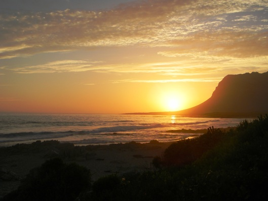 Palmiet beach, Kleinmond, Western Cape, South Africa