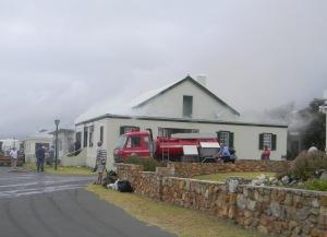 Huis brand in Kusweg