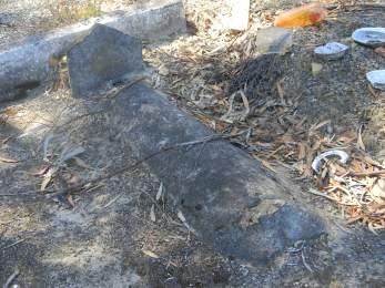 Die ongemerkte graf van Ella Gordon?