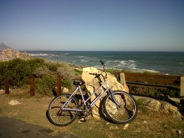 My old bicycle, who died tragically in an accident