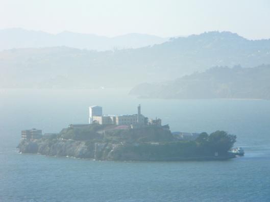 Alcatraz soos gesien vanuit die Coit toring